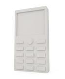 Telefone móvel isolado no branco Fotos de Stock