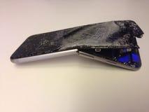 Telefone móvel quebrado Imagem de Stock