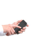 Telefone moderno Imagem de Stock Royalty Free