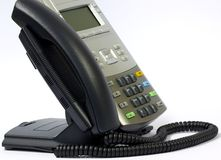 Telefone moderno do IP Foto de Stock Royalty Free