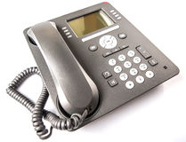 Telefone moderno VI do Desktop fotos de stock royalty free