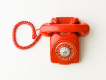Telefone ou correio imagens de stock