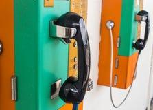 Telefone público em Tailândia Foto de Stock Royalty Free