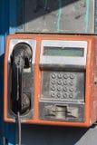 Telefone público sujo Imagem de Stock Royalty Free