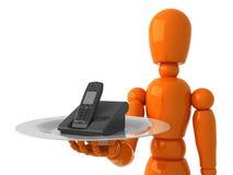 Telefone para você Imagens de Stock Royalty Free