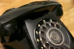 Telefone preto Fotos de Stock