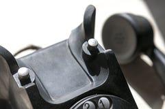 Telefone preto do vintage Imagens de Stock