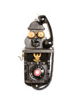 Telefone preto velho Foto de Stock
