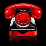 Telefone retro ilustração stock