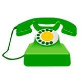 Telefone retro ilustração royalty free