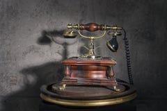 Telefone retro velho fotos de stock royalty free