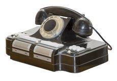 Telefone 50s do escritório fotografia de stock