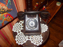 Telefone 20s do vintage Fotografia de Stock