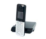 Telefone sem fio isolado imagens de stock royalty free