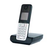 Telefone sem fio isolado imagem de stock