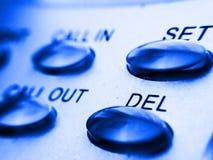 Telefone teclas Imagens de Stock Royalty Free