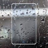 Telefone transparente Imagens de Stock