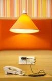 Telefone und Licht Lizenzfreies Stockbild