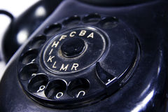 Telefone velho Imagem de Stock Royalty Free