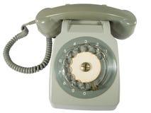 Telefone velho fotografia de stock