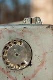 Telefone velho da rua Imagem de Stock
