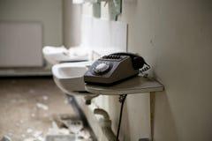 Telefone velho sujo Fotografia de Stock Royalty Free