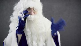 Telefonema linha de apoio ao cliente do ` s de Santa Claus - de Santa video estoque