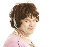 telefonen könsbestämmer transvestitarbetaren Royaltyfri Foto
