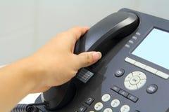 telefonen väljer upp Arkivfoton