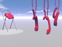 telefoner Arkivbild