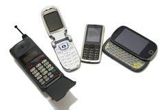 Telefones celulares Imagens de Stock Royalty Free