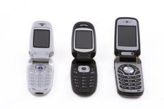 Telefones de pilha Fotos de Stock Royalty Free