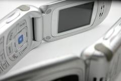 Telefones de pilha Imagem de Stock
