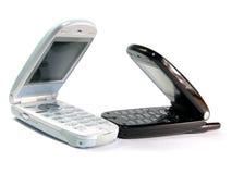 Telefones móveis foto de stock
