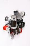 Telefones móveis rejeitados Fotografia de Stock Royalty Free
