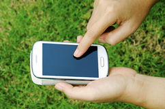 Telefones modernos Fotos de Stock Royalty Free