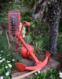Telefonhem från UK Arkivbild