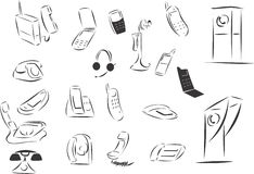 telefoni Arkivbild
