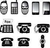 Telefoni illustrazione di stock