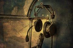 Telefoni capi dell'annata Fotografia Stock