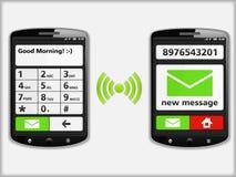 Telefoni cellulari Immagini Stock