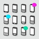 Telefoni cellulari Fotografie Stock