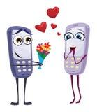 Telefoni cellulari Illustrazione di Stock