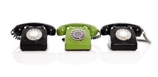 Telefoni dell'annata Fotografia Stock