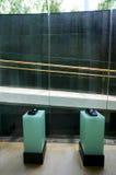 Telefoni della casa dell'ingresso dell'hotel Fotografia Stock