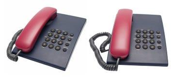 Telefoni della scrivania Immagini Stock Libere da Diritti