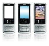 Telefoni delle cellule Fotografia Stock Libera da Diritti