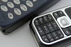 Telefoni delle cellule Immagini Stock
