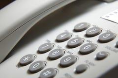 Telefoni il rilievo fotografia stock libera da diritti
