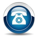 Telefoni il tasto illustrazione di stock